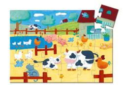 The Cows On The Farm Farm Animals Children's Puzzles