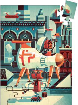 Bob The Robot Robots Children's Puzzles