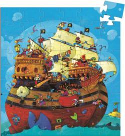 Barbarossa's Boat Pirates Children's Puzzles