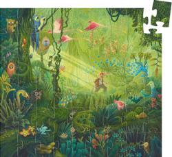 In the Jungle Jungle Animals Children's Puzzles
