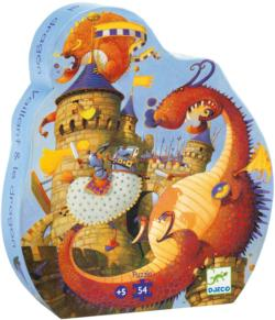 Vaillant And The Dragon Dragons Children's Puzzles