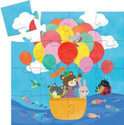 The Hot Air Balloon Balloons Children's Puzzles