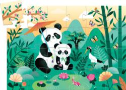 Leo The Panda Bears Children's Puzzles