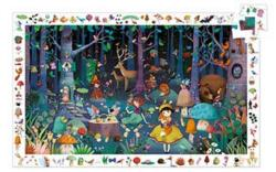Enchanted Forest Forest Jigsaw Puzzle