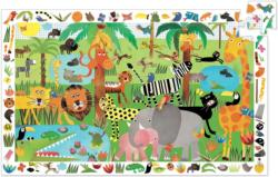 Jungle Jungle Animals Children's Puzzles