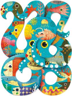 Octopus Under The Sea Children's Puzzles