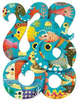 Octopus Under The Sea Jigsaw Puzzle
