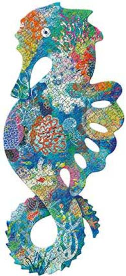 Sea Horse Under The Sea Jigsaw Puzzle