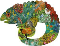 Chameleon Reptiles / Amphibians Children's Puzzles
