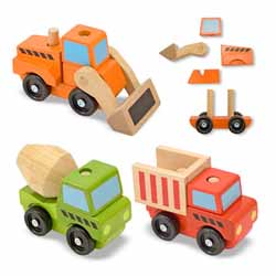 Stacking Construction Vehicles Construction Toy