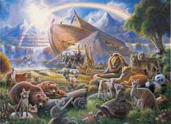 Noah's Ark Jungle Animals Jigsaw Puzzle