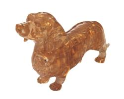 3D Crystal Puzzle - Dachshund Dogs 3D Puzzle
