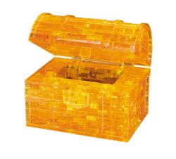 3D Crystal Puzzle - Treasure Chest Gold Pirates 3D Puzzle