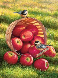 1/4 Peck and a Pair - Scratch and Dent Food and Drink Jigsaw Puzzle
