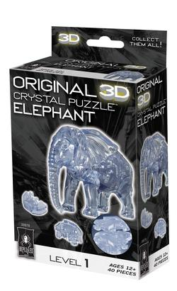 Elephant (3D Crystal Puzzle) Mother's Day Crystal Puzzle