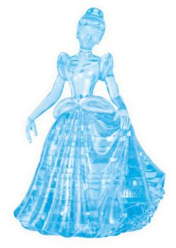 3D Crystal Puzzle - Cinderella Princess 3D Puzzle