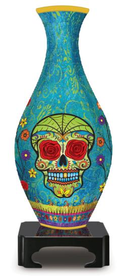 3D Puzzle Vase - Day of the Dead Graphics 3D Puzzle