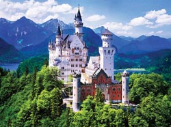 Neuschwanstein Castle (Masters of Photography) Monuments Jigsaw Puzzle