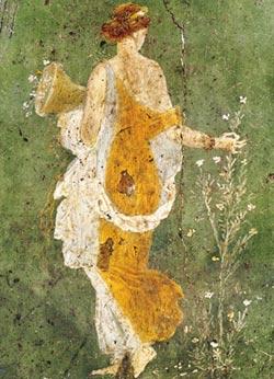 Primavera - Pompeian Art Cultural Art Jigsaw Puzzle