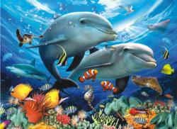 Beneath the Waves - Scratch and Dent Fish Jigsaw Puzzle