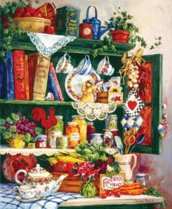 Grandma's Cupboard Food and Drink Jigsaw Puzzle