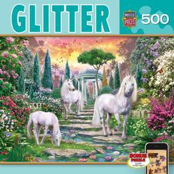 Magic Garden Unicorns Jigsaw Puzzle