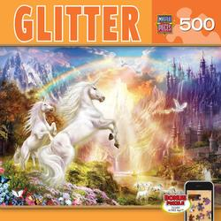 Rainbow River Unicorns Jigsaw Puzzle