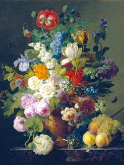 Flowers in Vase Renaissance Jigsaw Puzzle