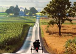 Sunday Evening (The Amish) Countryside Jigsaw Puzzle