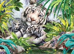 Tiger Love (3D Extreme Lenticular) - Scratch and Dent Baby Animals 3D Puzzle