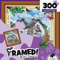 Delphinium Cottage (Framed Mini) Flowers Miniature Puzzle