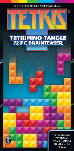 Tetris Prism Video Game Brain Teaser