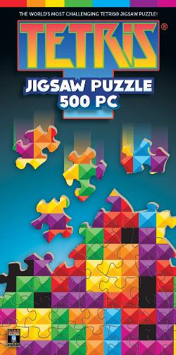 Tetris Kaleidoscope Video Game Jigsaw Puzzle