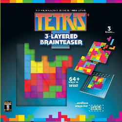 Tetris Layered Brainteaser Video Game Jigsaw Puzzle