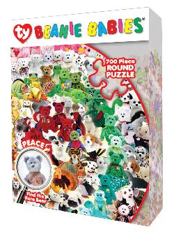 Find the Peace Beanie Baby Reptiles and Amphibians Shaped Puzzle