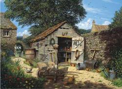 Potting Shed Garden Jigsaw Puzzle