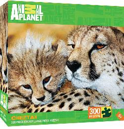 Cheetahs Jungle Animals Large Piece