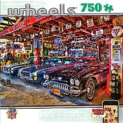 Star Studded (Wheels) Nostalgic / Retro Jigsaw Puzzle