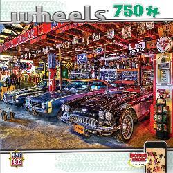 Star Studded (Wheels) Nostalgic / Retro Jigsaw Puzzle