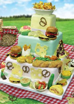 Devoted to Dessert (Cake Boss) Picnic Jigsaw Puzzle