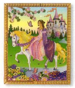 Peel and Press Mini - Princess Castle Princess Miniature