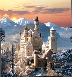 Neuschwanstein (winter) Photography Jigsaw Puzzle