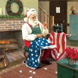 Gift to a Nation Santa Jigsaw Puzzle
