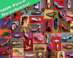 Shoes! Shoes! Shoes! Collage Jigsaw Puzzle