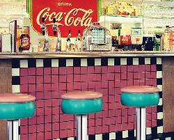 Soda Shop (Coca-Cola) - Scratch and Dent Coca Cola Jigsaw Puzzle