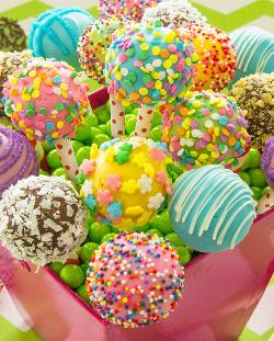Cake Pops Sweets Jigsaw Puzzle
