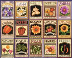Garden Goodness Pattern / Assortment Jigsaw Puzzle