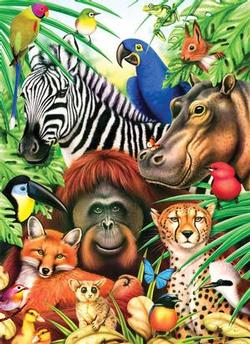 Animal Magic Jungle Animals Jigsaw Puzzle