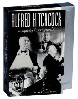 Alfred Hitchcock (4) Mystery Jigsaw Puzzle