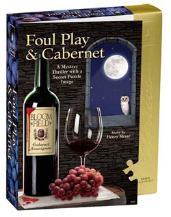 Foul Play & Cabernet Cocktails / Spirits Jigsaw Puzzle